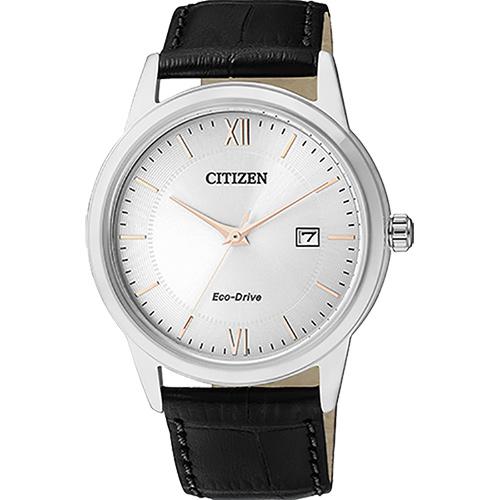 CITIZEN Eco~Drive光動能城市腕錶~銀40mm AW1236~11A