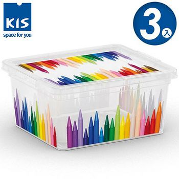 義大利KIS CBOX畫筆系列收納箱XXS 3入