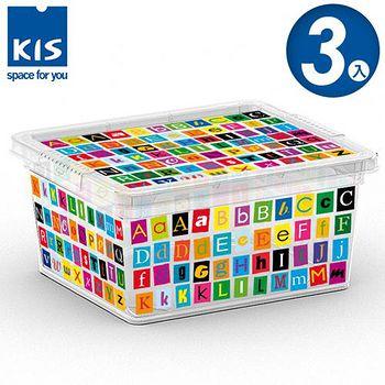 義大利KIS CBOX字母系列收納箱XXS 3入
