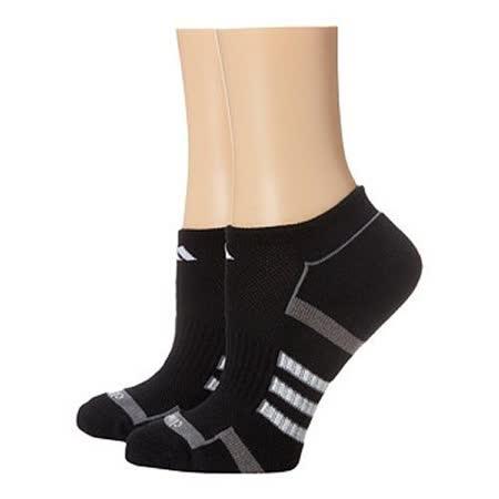 【Adidas】2016女Climalite黑色無外露襪子2入組【預購】