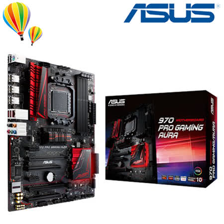 ASUS 華碩 970 PRO GAMING/AURA 主機板 / AM3+腳位