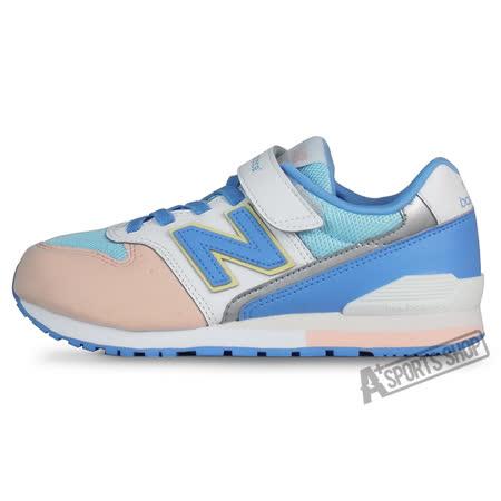 NEW BALANCE (大童) 紐巴倫 TIER 3 復古鞋 藍/白-KV996PWY