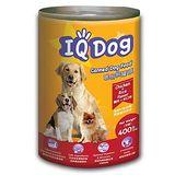 ★超值4件組★IQ Dog狗罐頭-雞肉+米口味400g