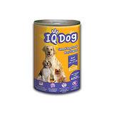 ★超值4件組★IQ Dog狗罐頭-牛肉風味+米400g