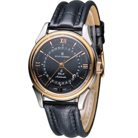 梭曼 REVUE THOMMEN 指針式日期機械腕錶 10010.2557