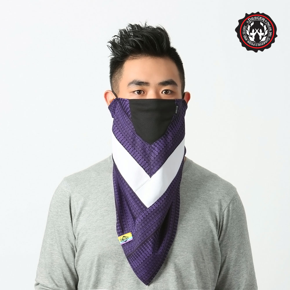 【DREGEN】TS系列-三角巾面罩-gohappy 線上 快樂 購深邃伯爵
