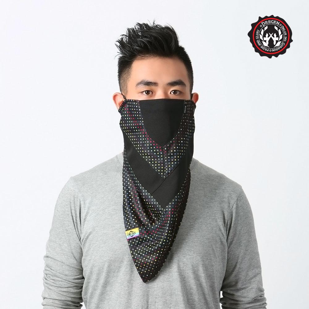 【DREGEN】TS系列-三角巾面罩-甜點彩高雄 sogo 地址虹