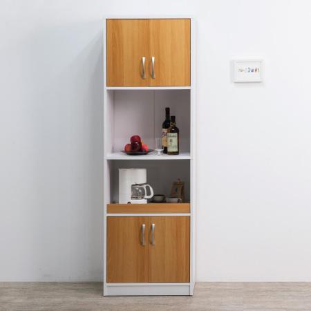 赫斯提亞實用四門二格廚櫃