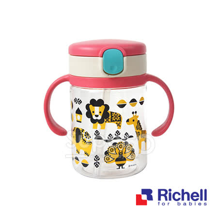 Richell日本利其爾 KINPRO馬戲團200ml水杯