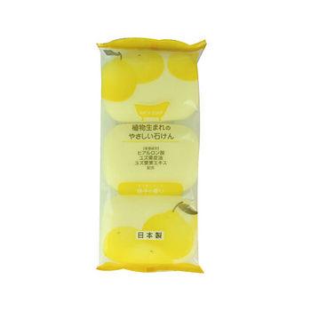 植物性沐浴石鹼香皂-柚子香80g*3