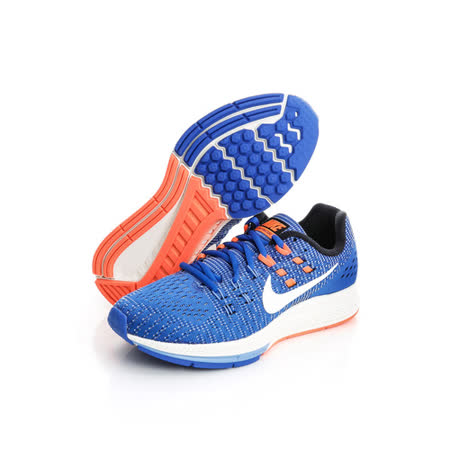 NIKE(女)慢跑鞋-藍-806584408