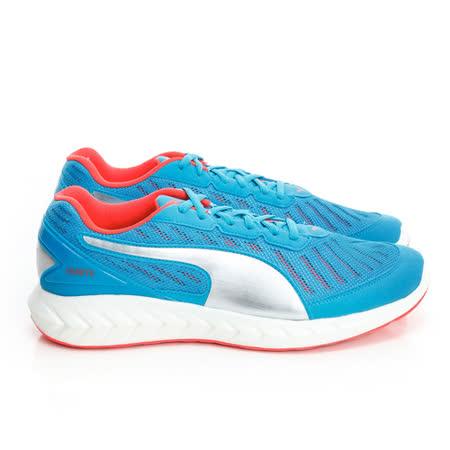 FILA(男)慢跑鞋-藍銀-18860501
