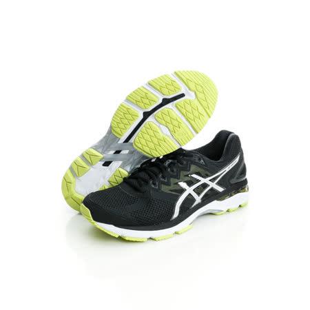 asics(男)慢跑鞋-黑銀-T606N9093
