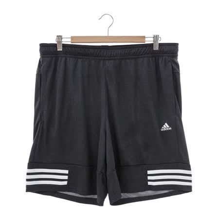 adidas(男)運動短褲-黑-AJ5771