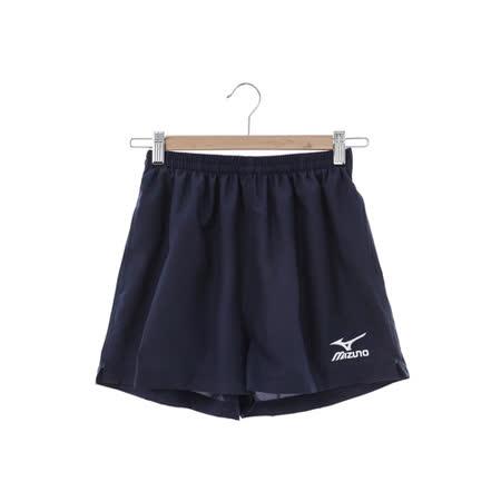 美津濃MIZUNO(男)運動短褲-藍-J2TB4A5414