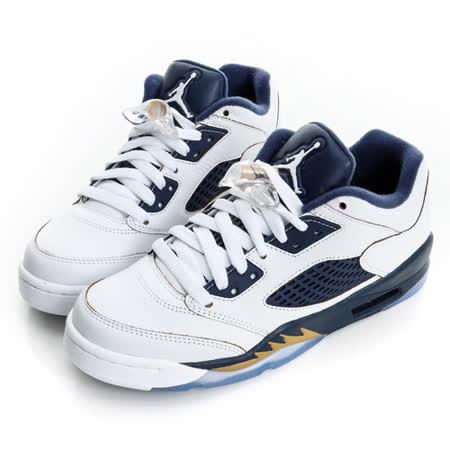 NIKE(童)JORDAN復古籃球鞋-白藍-314338135