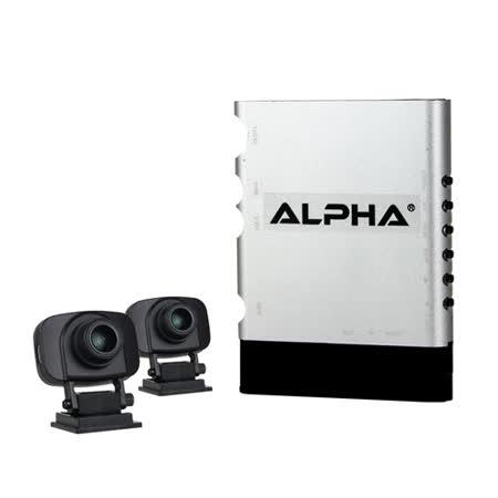 ALPHA F2 雙鏡頭1080P WDR 行車紀錄器(隱藏式行車紀錄器汽車專用)贈32GC10記憶卡