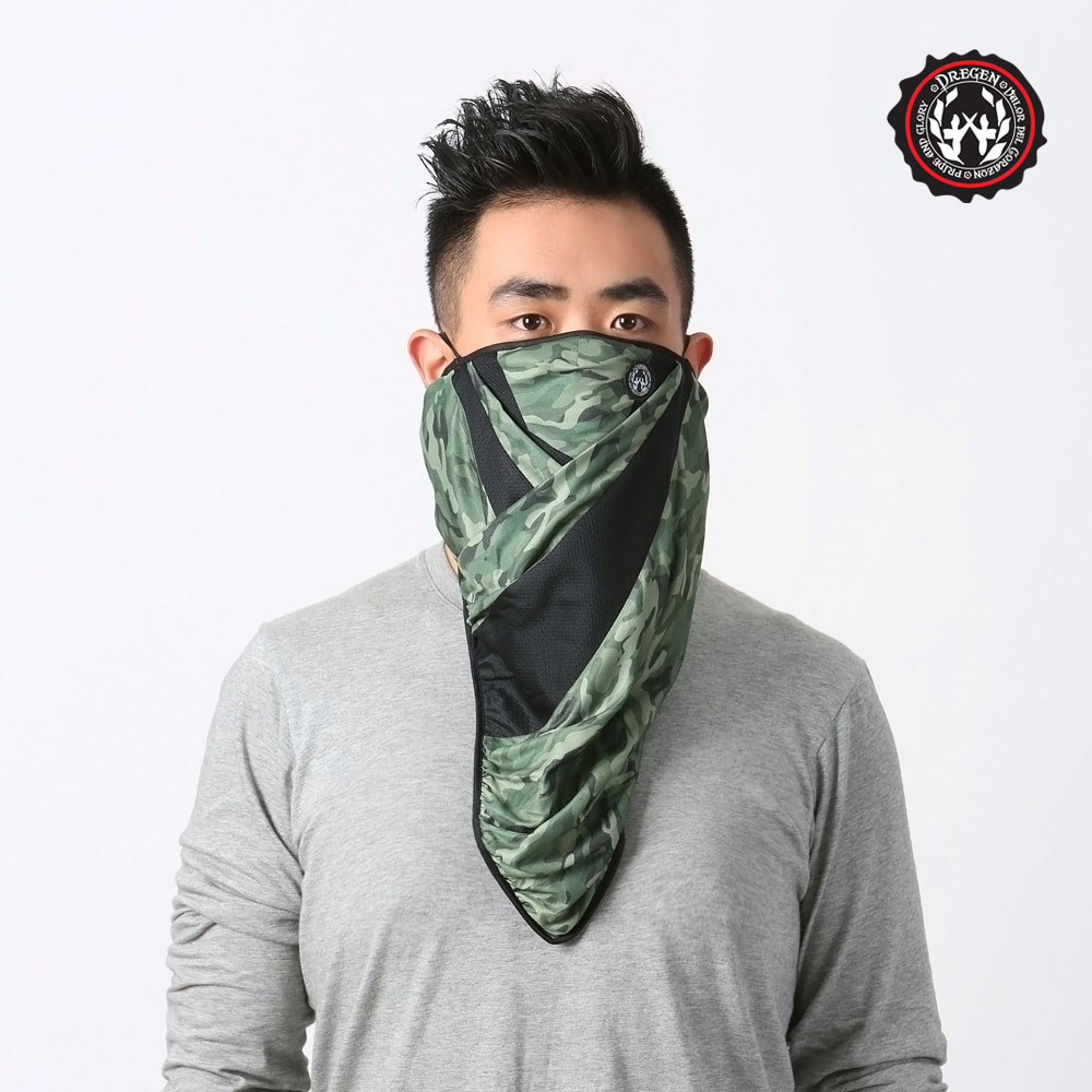 【DREGEN愛 買 回收】BL系列-三角巾面罩-中性迷彩