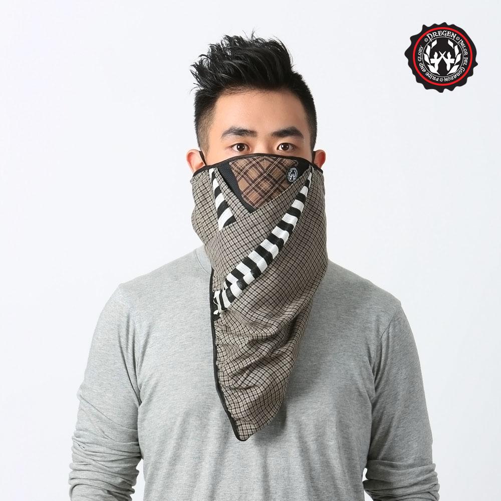 【DREGEN板橋 愛 買 美食 街】BL系列-三角巾面罩-都會叢林