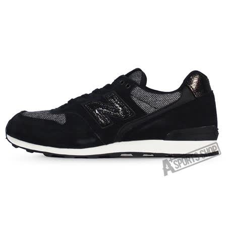 NEW BALANCE (女) 紐巴倫 TIER 2 復古鞋 黑-WR996NNB