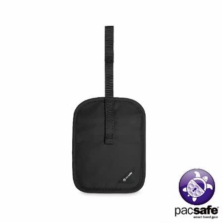 Pacsafe COVERSAFE V60 RFID隱藏式皮帶錢包(黑色)