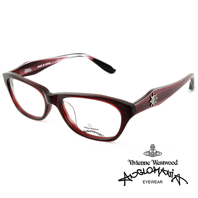 Vivienne Westwood 英國Anglomania獨特側邊流線感 款光學眼鏡^(
