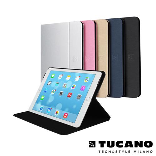 TUCANO iPad Air 2 Folio 髮絲紋可站立式保護套