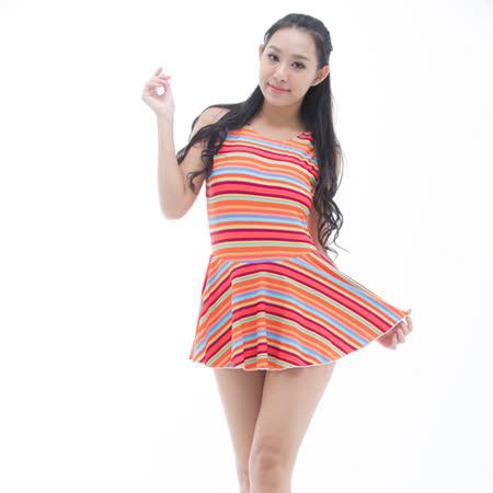 【BICH LOAN】泡湯/SPA專用大尺碼連身裙泳裝13006617