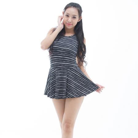 【BICH LOAN】泡湯/SPA專用大尺碼連身裙泳裝13006618