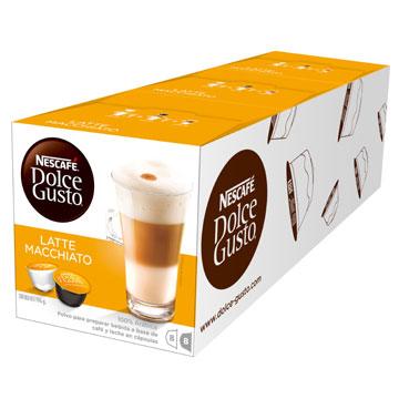 雀巢咖啡-拿鐵咖啡膠囊(一組3盒)