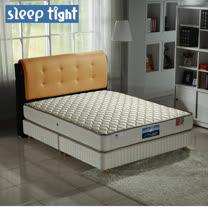 【Sleep tight】二線防蹣抗菌蜂巢式獨立筒床墊(一般型)-6尺雙人加大