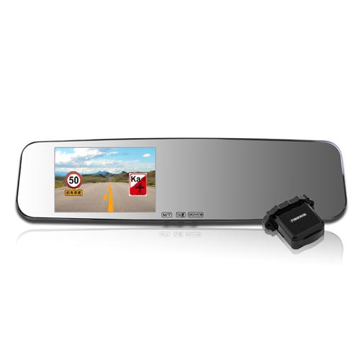 響尾蛇M8 Plus後視鏡行車紀錄器+雷達偵測行車紀錄器鏡頭分離 (送16GC10+免費安裝)
