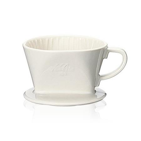 【TCoffee】Kalita 101白色陶製三孔濾杯