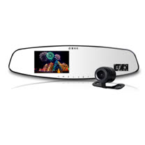 響尾蛇 MTR-8950 後視鏡1080P行車紀錄器 (送32G記憶卡+車用獨立開關三孔擴充器)
