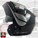 【ZEUS 瑞獅 ZS 3000A GG12安全帽】汽水帽│雙層鏡片│可樂帽│全罩式│可掀式安全帽│CP值超高
