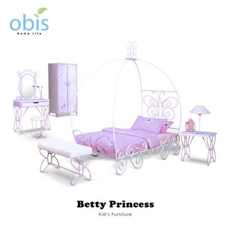 兒童家具/床組/床架【obis】Kid's Neverland貝蒂公主全系列
