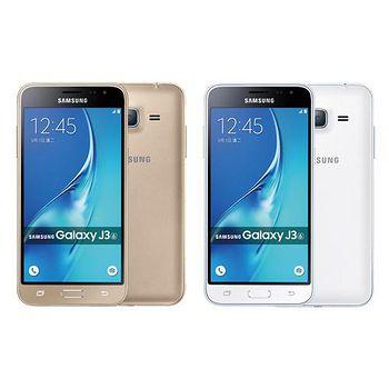 Samsung GALAXY J3 2016 5吋四核4G雙卡機加贈16G記憶卡+玻璃貼+保護套 支援4G LTE