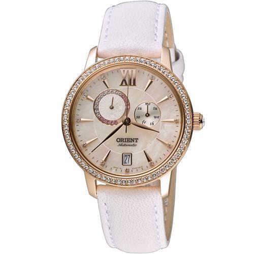 ORIENT 東方錶 璀璨星辰日月相機械錶 SET0W001W