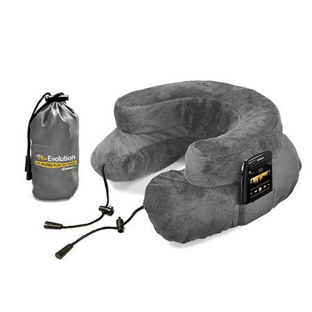 Cabeau 美國專利進化護頸充氣枕 - 灰色 飛機靠枕 旅行靠枕