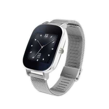 ASUS ZenWatch2智慧手錶 優雅銀鍊 (18mm) ◆買就送TESCOM 負離子吹風機