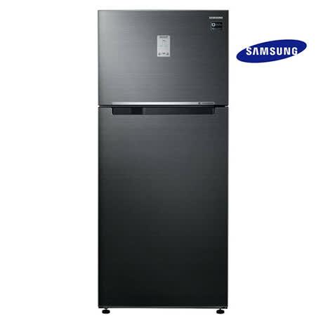 Samsung三星537公升Twin Cooling Plus雙循環1級雙門冰箱RT53K6235BS/TW