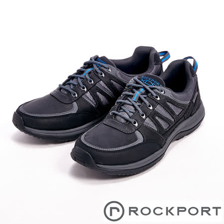 Rockport(男)XCS URB GEAR WP 全防水系列休閒男鞋-黑