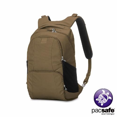 Pacsafe METROSAFE Lsogo 台中S450 防盜雙肩背包(25L)(沙褐)