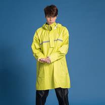 OutPerform-頂峰360度全方位太空背包雨衣(短版)-芥末黃-上衣+單褲