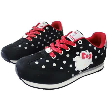 【HELLO KITTY】 休閒鞋-黑915009