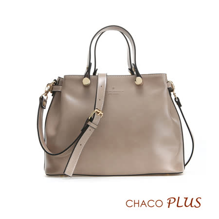 【CHACO韓國】韓製法式優雅復古手提包NO.1159 *米色