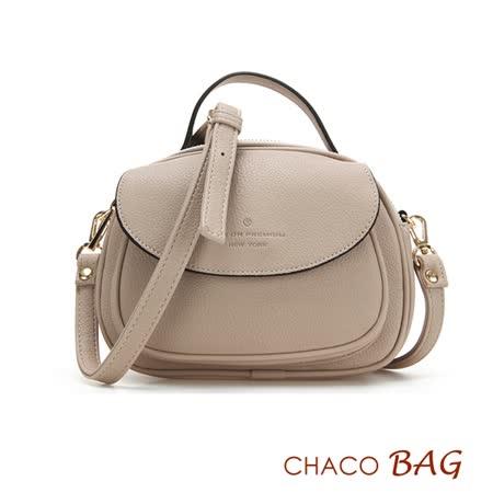 【CHACO韓國】韓製時尚迷人實用小巧側背包NO.1096*米色