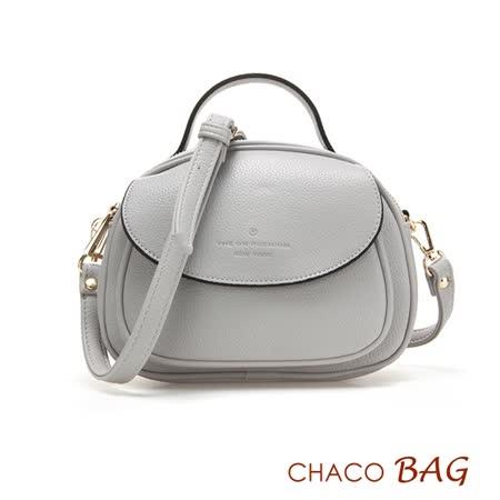 【CHACO韓國】韓製時尚迷人實用小巧側背包NO.1096*灰色