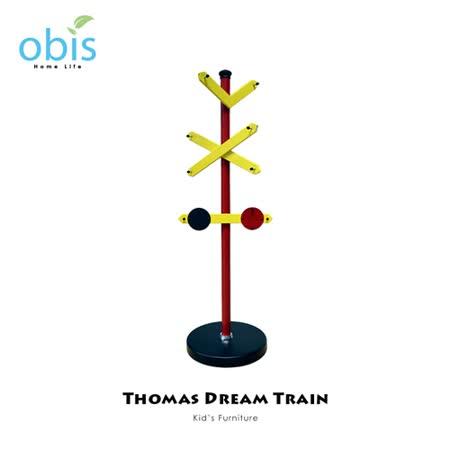 兒童家具/衣帽架【obis】Kid's Neverland湯瑪士小火車系列 - 造型衣帽架