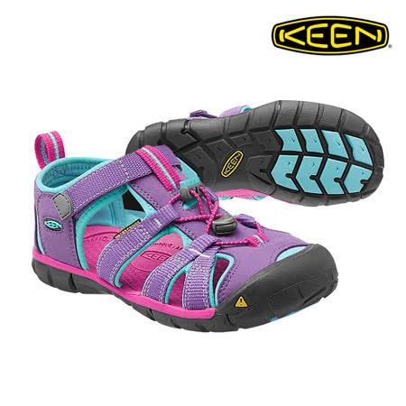 KEEN 織帶涼鞋Seacamp II CNX 1014477《童款》/ 城市綠洲